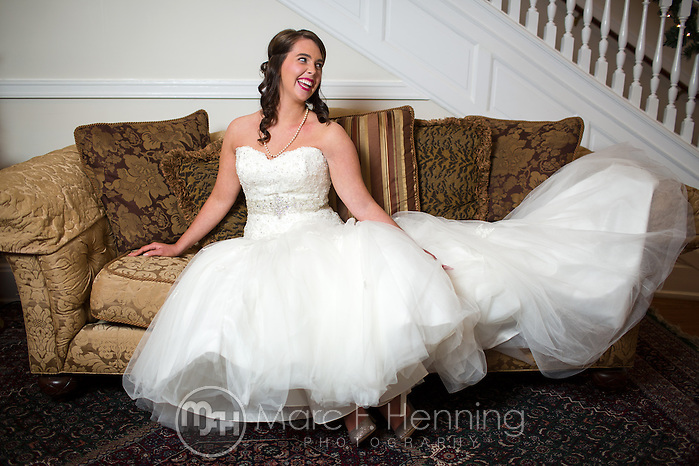 Photo by Marc F. Henning Ashley Brooks bridal portrait session at Dec. 21, 2013, at Carnal Hall in Fayetteville, Ark. (MARC F. HENNING/MARC F. HENNING PHOTOGRAPHY)