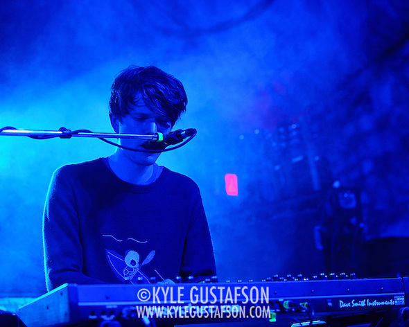 AUSTIN, TX - March 16th: James Blake performs at the NPR Music showcase at Stubb's as part of the 2011 South by Southwest Festival. (Photo by Kyle Gustafson) (Kyle Gustafson)