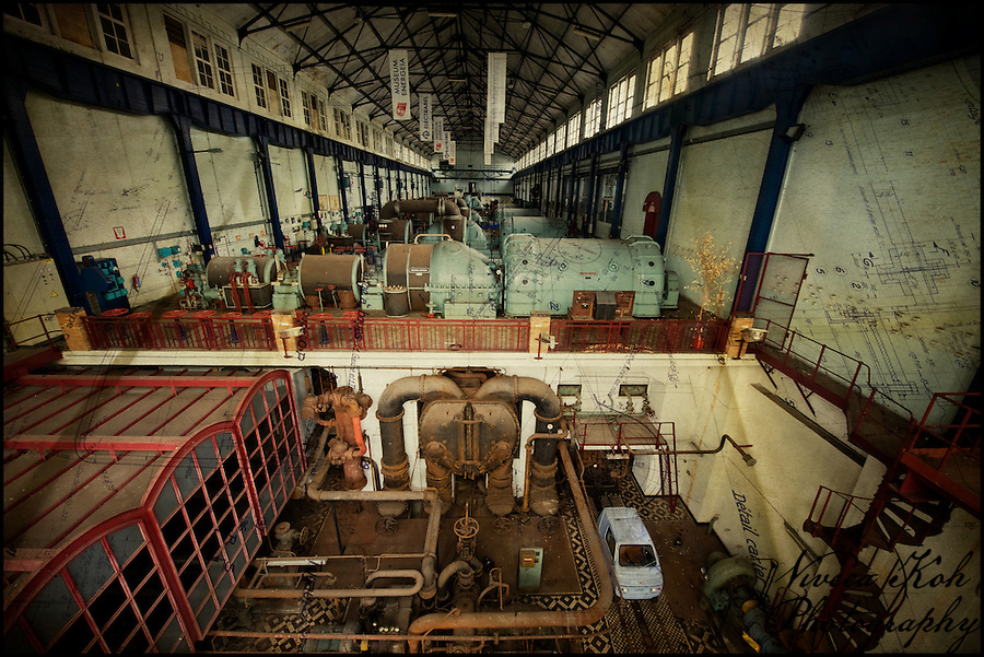 Museum attached to abandoned Belgian powerplant ECVB (Viveca Koh)