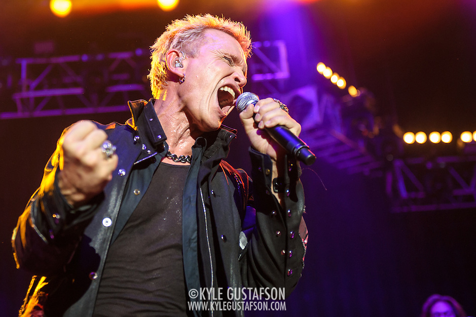 "COLUMBIA, MD - May 30, 2015 - Billy Idol performs at the 2015 Sweetlife Festival at Merriweather Post Pavilion in Columbia, MD. His set featured rock radio staples such as ""Rebel Yell,"" ""Eyes Without A Face"" and ""Dancing With Myself."" (Photo by Kyle Gustafson / For The Washington Post) (Kyle Gustafson/For The Washington Post)"