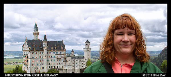 Me at Neuschwanstein Castle Germany May 17, 2014 (Kim Day)