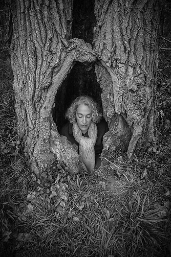 Tree Woman...Alisa Dobbins, Sacramento, CA (© Clark James Mishler)