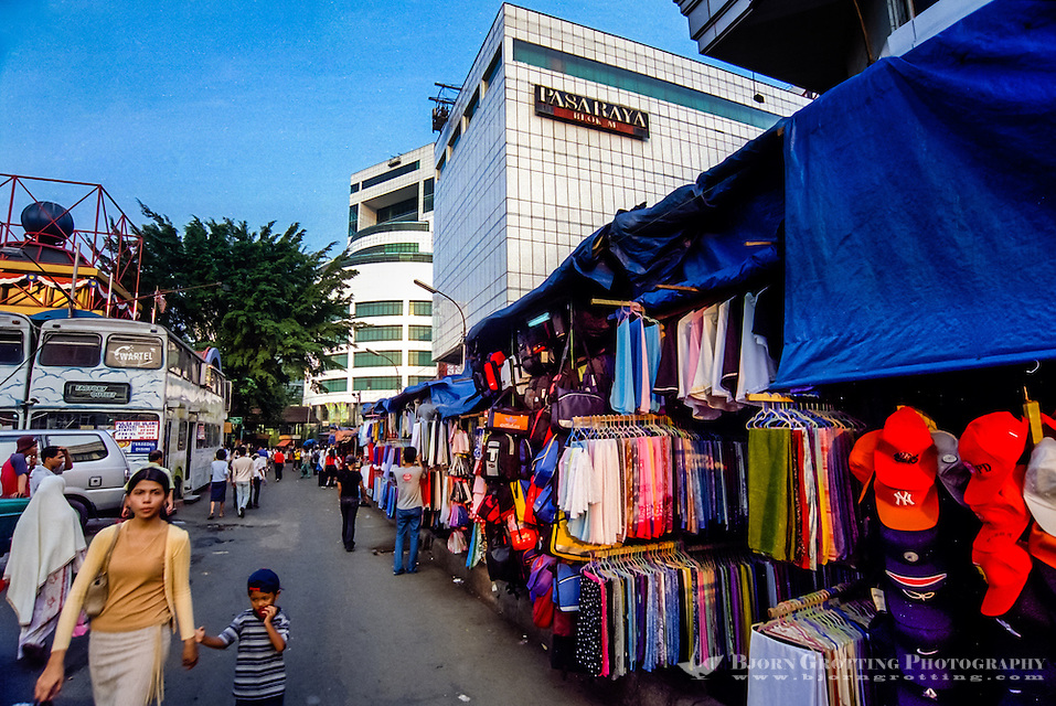 Indonesia, Java, Jakarta. Blok M Plaza and Pasaraya Grande are main shopping centers in Blok M. (Photo Bjorn Grotting)
