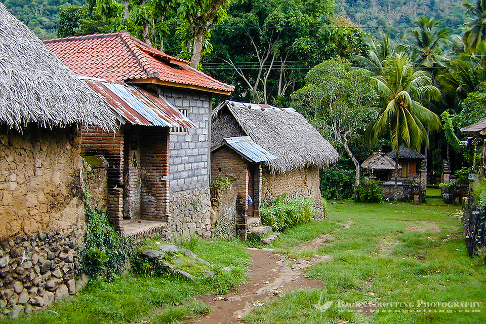 Bali, Karangasem, Tenganan. A traditional Bali Aga village. Tenganan is located on the fertile hills stretching up to Gunung Agung. (Photo Bjorn Grotting)