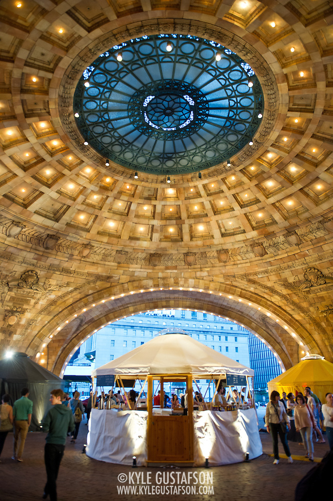Pittsburgh's Union Station served as the host venue for the  Station to Station tour, an artist-driven public art project made possible by Levi's. (Kyle Gustafson/Photo by Kyle Gustafson)