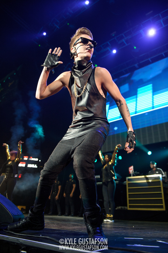 Fairfax, VA - Dedcember 11, 2012 - Justin Bieber performs in concert at the Hot 99.5 Jingle Ball at the Patriot Center in fairfax, VA. (photo by Kyle Gustafson) (Kyle Gustafson/Photo by Kyle Gustafson)