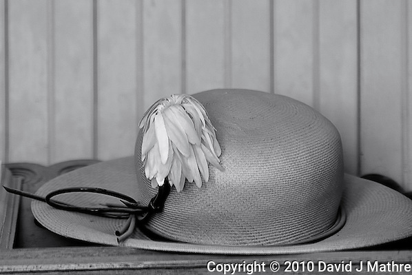 School Marm's Hat. Bodie State Park in California. Image taken with a Nikon D300 and 200 mm f/2 lens (ISO 200, 200 mm, f/4, 1/320). (David J Mathre)