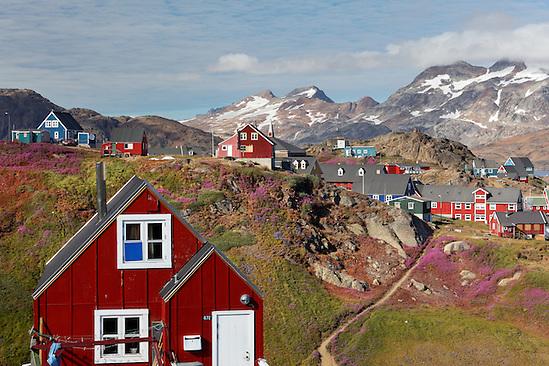 Town of Tasiilaq on Ammassalik Island, East Greenland (Brad Mitchell)