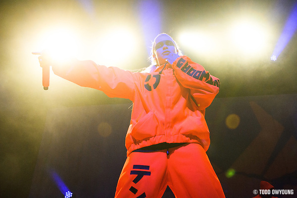South African rap group Die Antwoord performing at the Pageant in St. Louis on October 18, 2012. (TODD OWYOUNG)