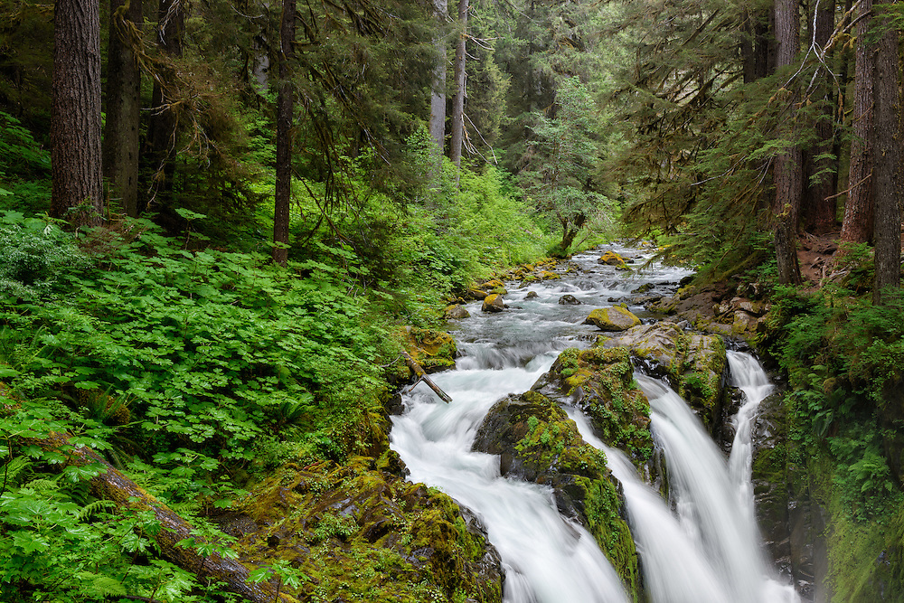 Waterfalls: Sol Duc Falls in Olympic National Park, Washington (Doug Oglesby)