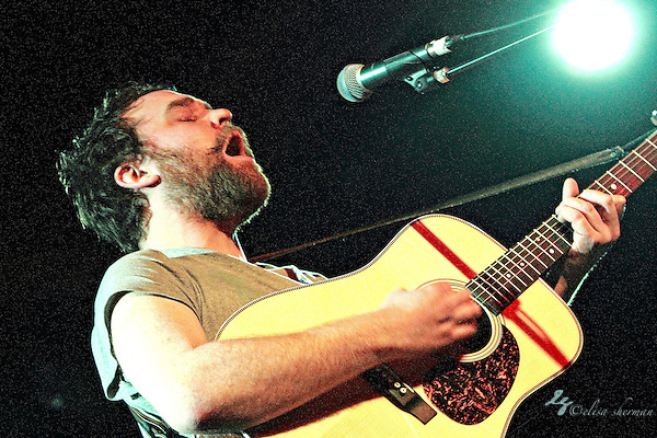 Scott Hutchison of Frightened Rabbit performed solo at the Showbox Sodo, February 22, 2011 (Elisa Sherman)