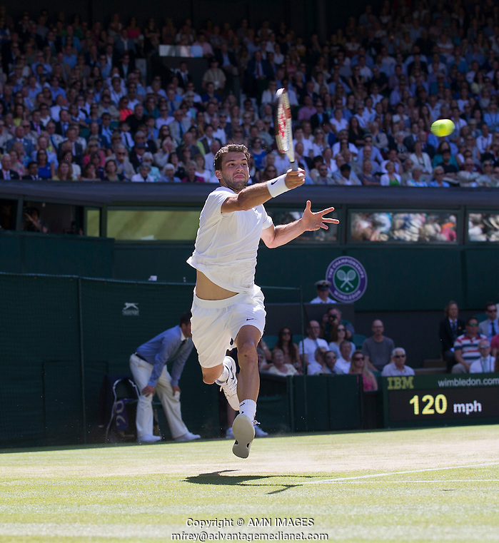 GRIGOR DIMITROV (BUL) The Championships Wimbledon 2014 - The All England Lawn Tennis Club -  London - UK -  ATP - ITF - WTA-2014  - Grand Slam - Great Britain -  4th July  2014.  © AMN IMAGES (FREY/FREY- AMN Images)