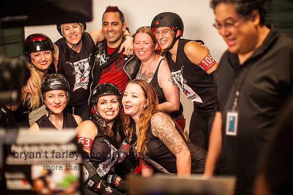 The Richmond Wrecking Belles won the 2014 Bay Area Derby Girls League Championship on Saturday, August 23 2014. The final score was 181-178. (bryan farley)