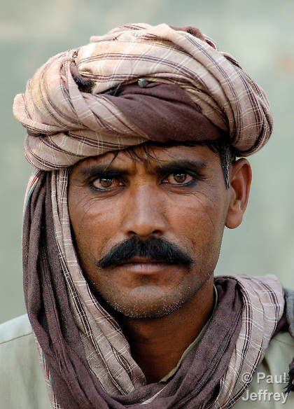 A man in the Punjab region of Pakistan.