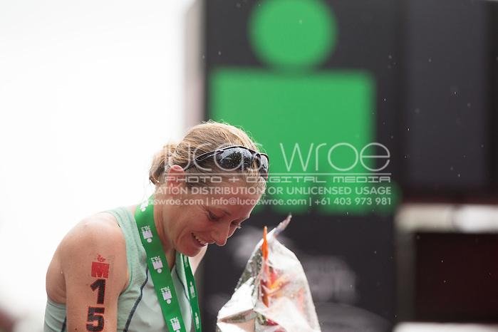 Candice Hammond (NZL), June 8, 2014 - TRIATHLON : Ironman Cairns 70.3 / Cairns Airport Adventure Festival, Palm Cove - Captain Cook Highway - Cairns Esplanade, Cairns, Queensland, Australia. Credit: Lucas Wroe (Lucas Wroe)
