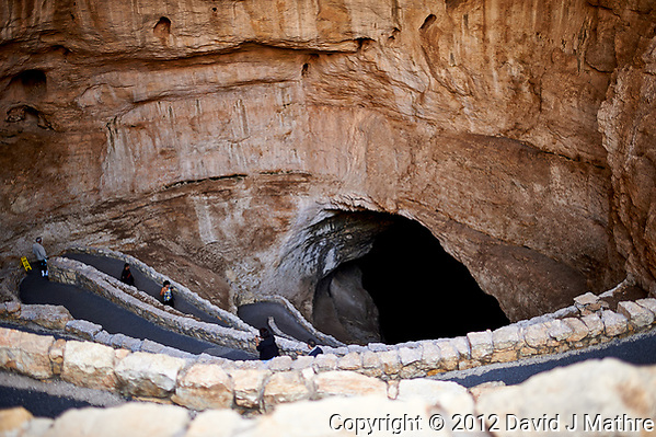 Entrance to Carlsbad Cavern. Image taken with a Nikon D4 camera and 35 mm f/1.4 lens (ISO 100, 35 mm, f/1.4, 1/80 sec) (David J Mathre)