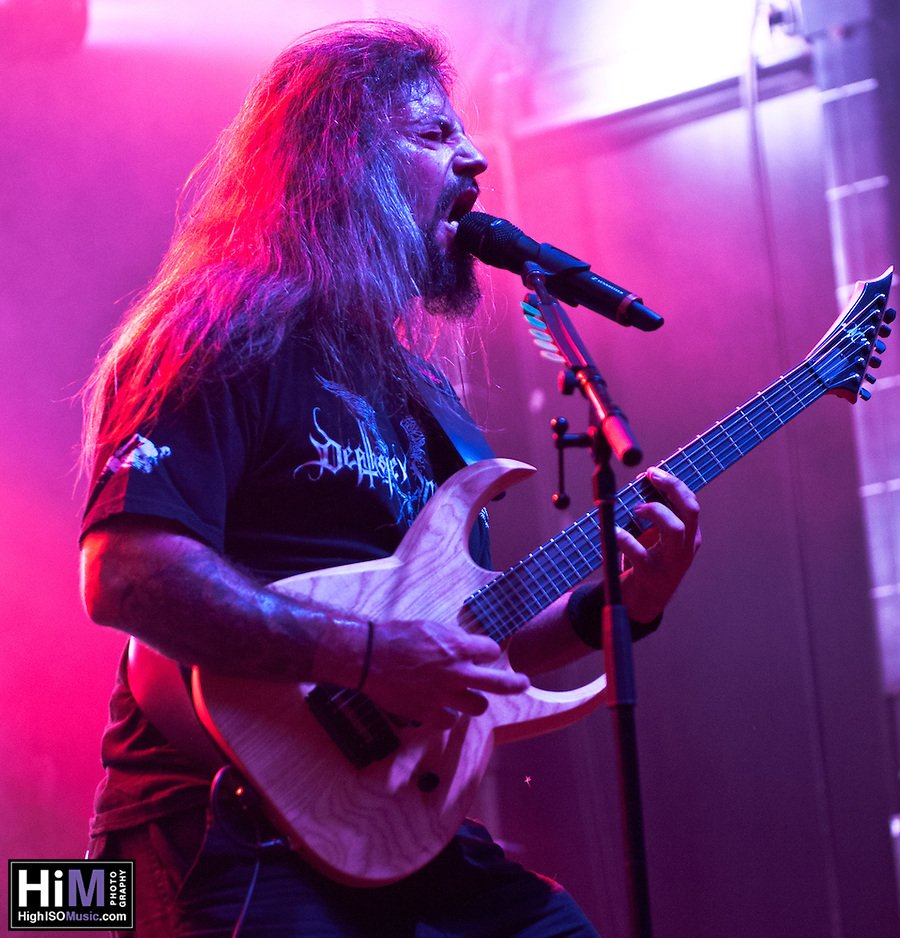 Gorguts performing at Heavy MTL 2011 in Montreal, QC. (Golden G. Richard III)