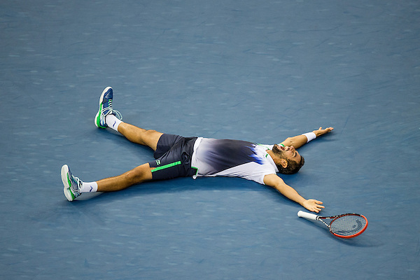 Marin Cilic, 2014 U.S. Open Men's Final. Photographed at the Billie Jean King National Tennis Center in Queens, NY, USA 9/8/2014. © 2014 Darren Carroll (Darren Carroll/Sports Illustrated)