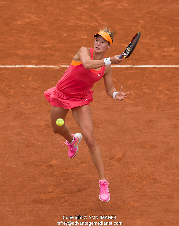 EUGENIE BOUCHARD (CAN) Tennis - French Open 2014 -  Roland Garros - Paris -  ATP-WTA - ITF - 2014  - France -  3rd June 2014.  © AMN IMAGES (FREY/FREY- AMN Images)