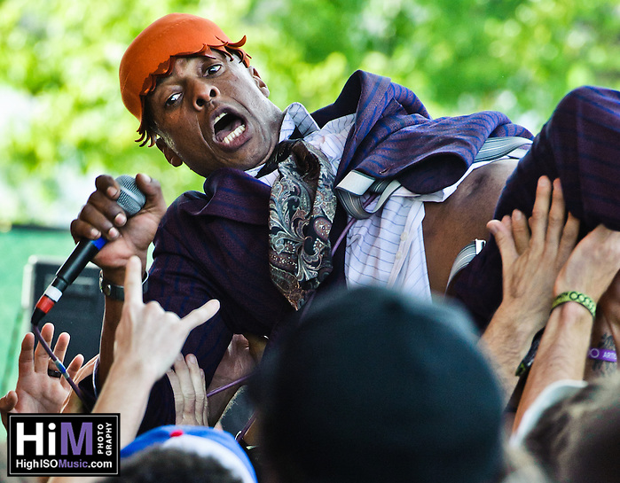 Fishbone at the 2011 Voodoo Festival in New Orleans, LA. (Golden G. Richard III)
