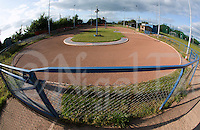 09 JUN 2015 - IPSWICH, GBR - The Ipswich Cycle Speedway Club track at Whitton Sports and Community Centre in Ipswich, Suffolk, Great Britain (PHOTO COPYRIGHT © 2015 NIGEL FARROW, ALL RIGHTS RESERVED) (NIGEL FARROW/COPYRIGHT © 2015 NIGEL FARROW : www.nigelfarrow.com)