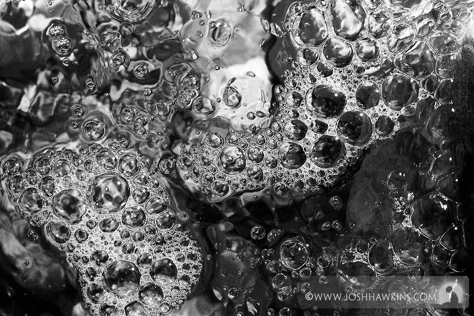 Temporary Textures on Rock -  A series of black and white infrared images exploring the textures of rocks and the light cast on them through water on sunny days...For more see here:..http://www.joshhawkins.com/2010/03/28/the-basis-temporary-textures-on-rocks/ (Josh Hawkins)