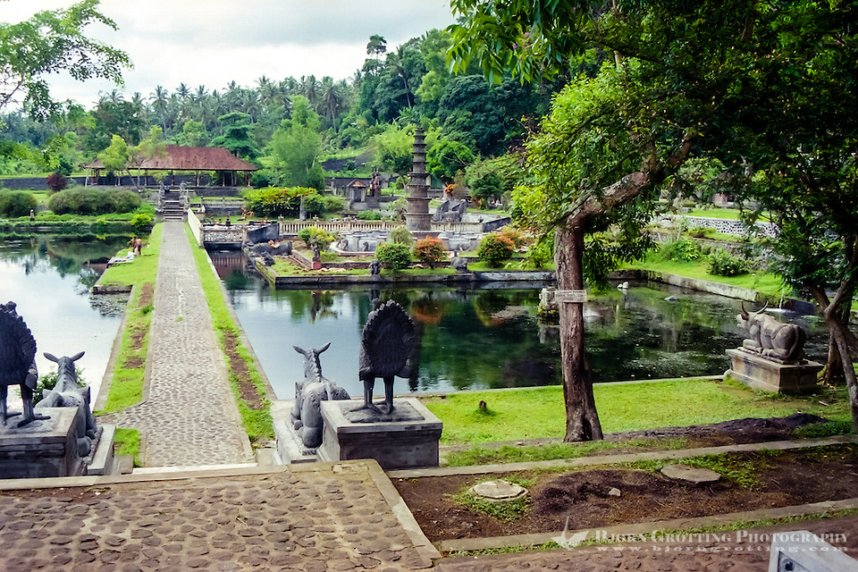 Bali, Karangasem. The Tirta Gangga water palace was a place for rest and recreation for the king and his family. (Photo Bjorn Grotting)