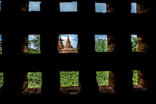 View of Temples, Bagan, Myanmar (Quinn Ryan Mattingly)