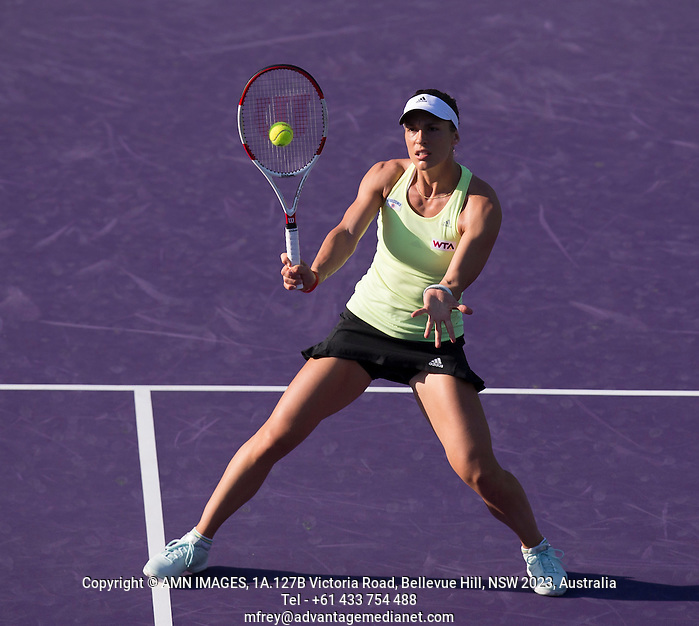 ANDREA PETKOVIC (GER) Tennis - Sony Open - ATP-WTA -  Miami -  2014  - USA  -  19 March 2014.  © AMN IMAGES (FREY/FREY- AMN Images)