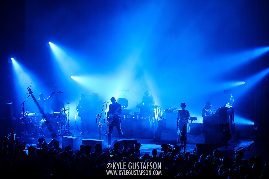 COLUMBIA, MD - September 14th, 2014 - Jack White (center) performs at Merriweather Post Pavilion in Columbia, MD. White's career-spanning 20+ song set drew from his work with The White Stripes, The Dead Weather and The Raconteurs as well as his two solo albums.  (Photo by Kyle Gustafson / For The Washington Post) (Kyle Gustafson/For The Washington Post)