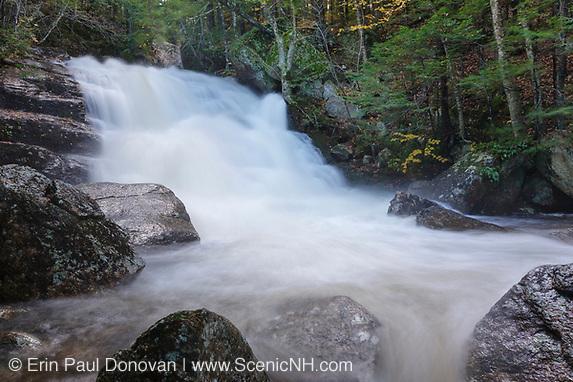 Ellen's Falls along Hobbs Brook in Albany, New Hampshire.