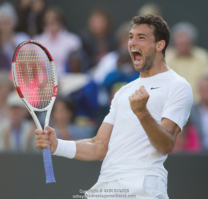 GRIGOR DIMITROV (BUL) The Championships Wimbledon 2014 - The All England Lawn Tennis Club -  London - UK -  ATP - ITF - WTA-2014  - Grand Slam - Great Britain -  27th June 2014.  © AMN IMAGES (FREY/FREY- AMN Images)