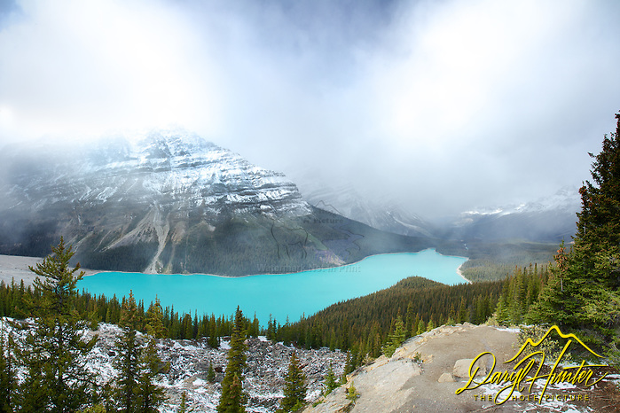 "Clearing storm, Peyto Lake, Banff National Park (© Daryl Hunter's ""The Hole Picture""/Daryl L. Hunter)"