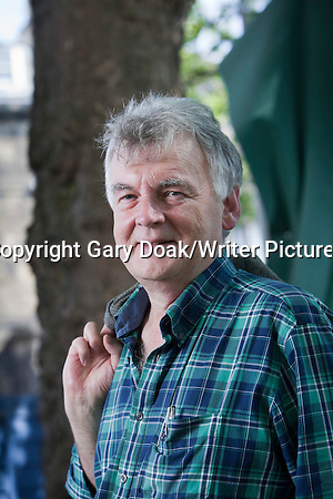 Ken MacLeod, the Scottish science fiction writer and poet, at the Edinburgh International Book Festival 2015. Edinburgh, Scotland. 23rd August 2015 Photograph by Gary Doak/Writer Pictures WORLD RIGHTS (Must Credit: Gary Doak/Writer Pictures)