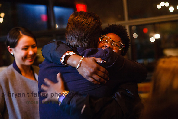 "Oakland Vice Mayor Annie Campbell Washington celebrated her service to the people of Oakland during a ""Farewell Party"" at the Old Kan Beer & Company on Monday, December 17, 2018. Annie chose not to seek re-election in 2018 and has taken a new position at UC Berkeley. (bryan farley)"