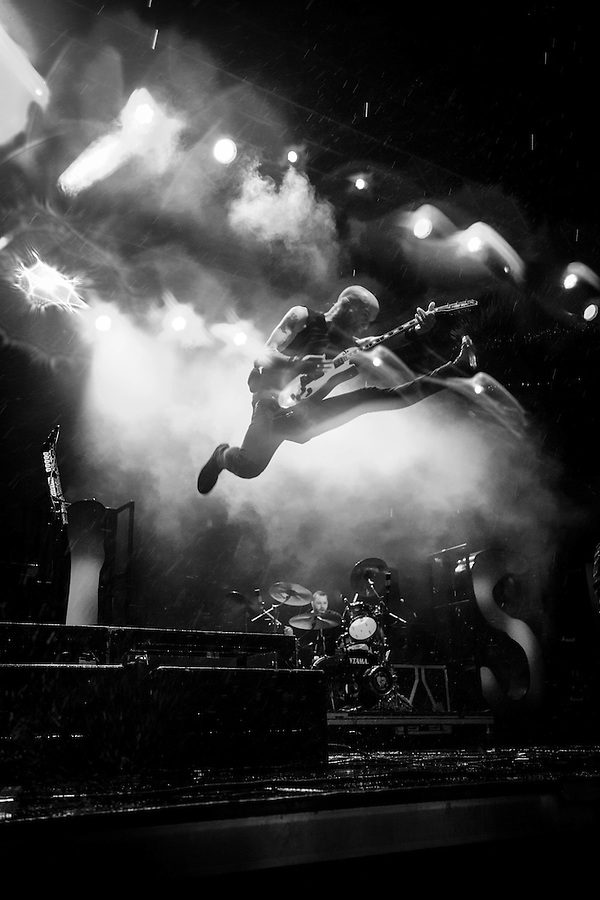 Rise Against at Riot Fest 2014 (David T. Kindler)