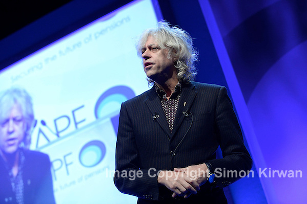 Bob Geldof at NAPF 2014, BT Convention Centre Liverpool - Photo By Simon Kirwan