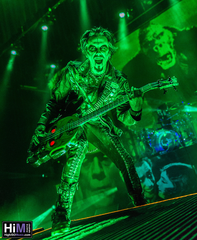 Rob Zombie at the Civic in New Orleans, LA on June 2, 2015. (HIGH ISO Music, LLC)