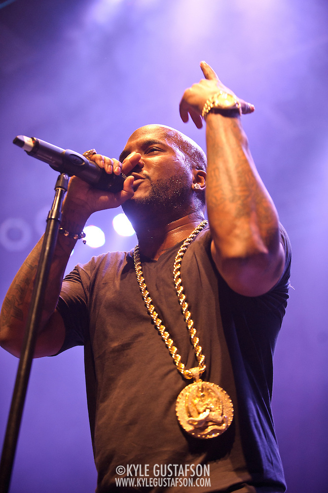 SILVER SPRING, MD - March 3rd, 2012 - Rapper Young Jeezy performs at the Fillmore Silver Spring in Silver Spring, MD. Jeezy released his fourth studio album, Thug Motivation 103: Hustlerz Ambition, in December 2011. The album debuted at #3 on the Billboard 200. (Photo by Kyle Gustafson/For The Washington Post) (Kyle Gustafson/FTWP)