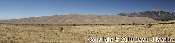 Colorado Fall Nature; Grand Sand Dunes NP; Alamosa NWP (David J Mathre)