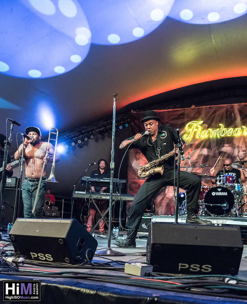 Fishbone performs at the 2014 Voodoo Music Experience in New Orleans, LA. (HIGH ISO Music, LLC)