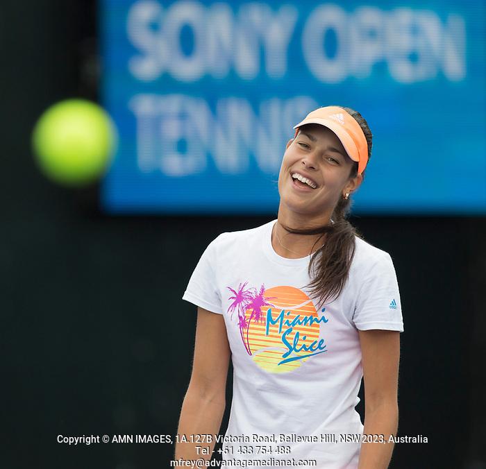 ANA IVANOVIC (SRB) Tennis - Sony Open -  Miami -   ATP-WTA - 2014  - USA  -  24 March 2014.  © AMN IMAGES (FREY/FREY- AMN Images)