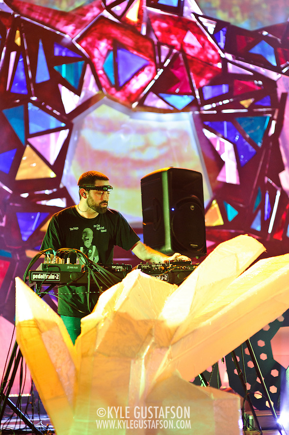 WASHINGTON, DC - July 9th, 2011 - Geologist of Animal Collective performs at Merriweather Post Pavilion in Columbia, MD. The band named their eighth studio album after the venue.  (Photo by Kyle Gustafson/For The Washington Post) (Photo by Kyle Gustafson / For The Washington Post)