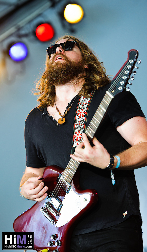 Sheepdogs playing at the 2011 Voodoo Festival in New Orleans, LA. (Golden G. Richard III)