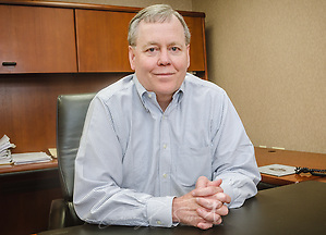 Mark Bostick, president of Comcar Industries, is pictured at the company headquarters, April 16, 2015, in Auburndale, Fla. The company was founded in 1953 by his father, Guy Bostick, and Mark Bostick is keeping his legacy alive through his people-first philosophy. Comcar has become one of the country's leading carriers, running four separate companies, with offices in more than 45 locations nationwide. (Photo by Carmen K. Sisson/Cloudybright) (Carmen K. Sisson/Cloudybright)