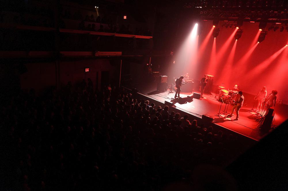 Photos of British rock band Spiritualized performing at Terminal 5, NYC. May 7, 2012. Copyright © 2012 Matthew Eisman. All Rights Reserved. (Photo by Matthew Eisman/WireImage)