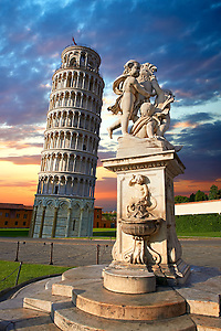 The Leaning Tower Of Pisa, Italy (Paul E Williams)
