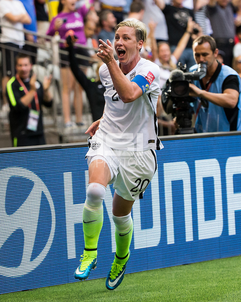 Vancouver, Canada - June 16, 2015: The USWNT defeated Nigeria 1-0 during their final group game of the FIFA Women's World Cup at BC Place. (Steven Limentani/isiphotos.com)