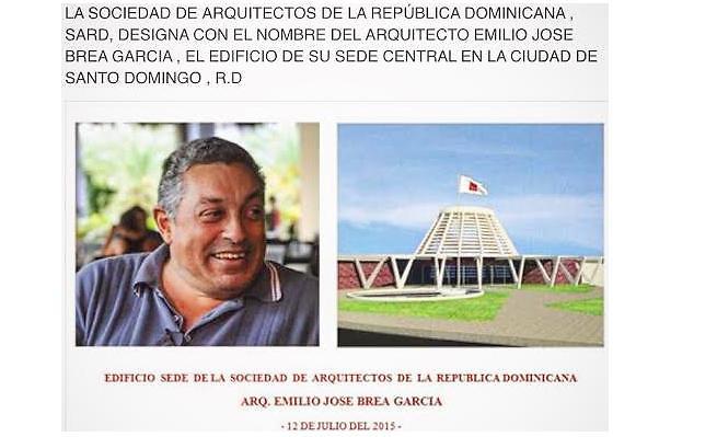 Sociedad de arquitectos honra memoria de emilio jos brea - Sociedad de arquitectos ...