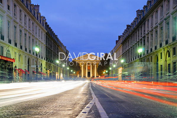 Rush hour on Rue Royale, Paris, France (David Giral/David Giral Photography)